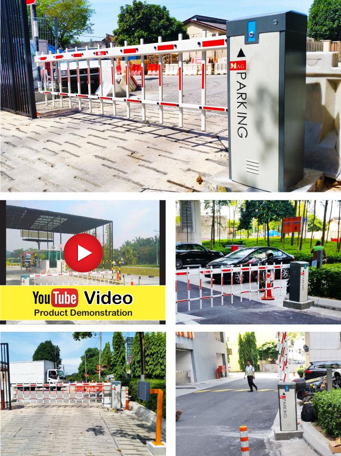 building barrier gate