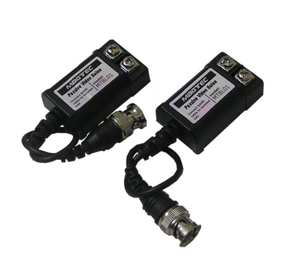 cctv balun connectors