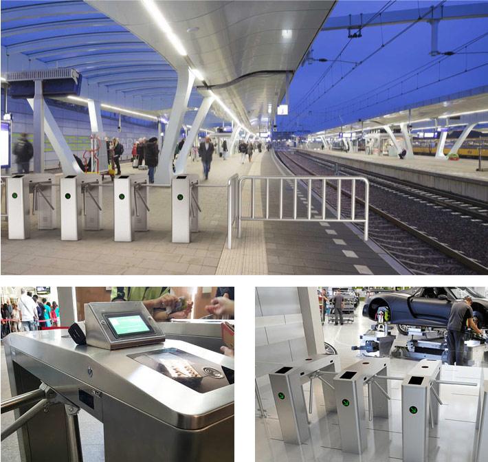 malaysia tripod turnstile ticketing system