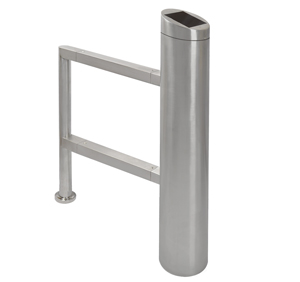 stainless swing barrier pedestrian gate