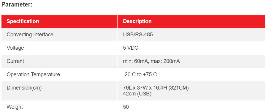 AR321CM – SOYAL USB CONVERTER