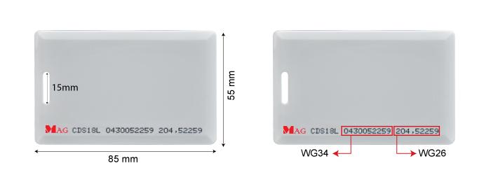 CDS18L Malaysia long range proximity card