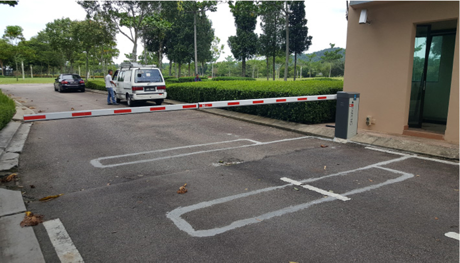 install barrier gate loop coil