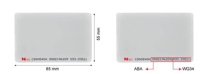 CDS084SH Thin proximity card malaysia