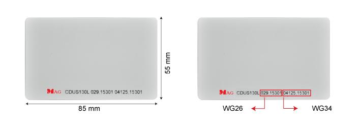 CDUS130L malaysia anti interference UHF card