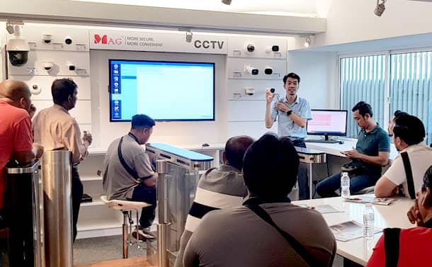 Picture of Ah Kiat IP CCTV live demo