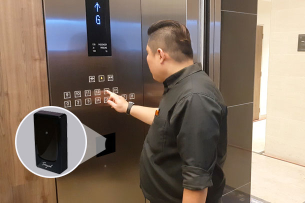 Ultimate control of lift access 1