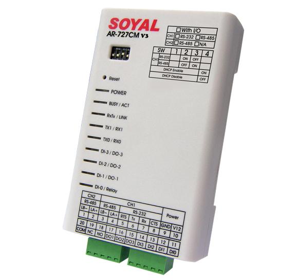 SOYAL SERIAL DEVICE NETWORK SERVER