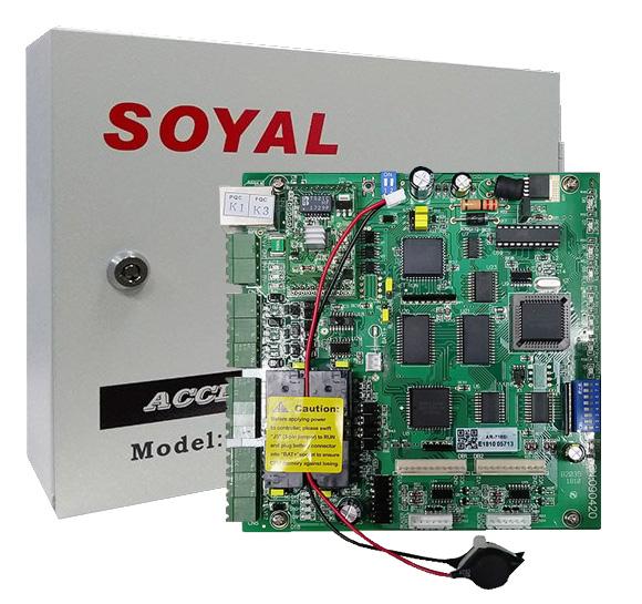 soyal reader interface
