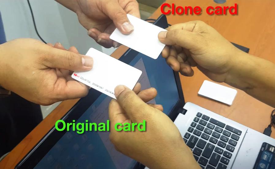 No more duplicate access card 1